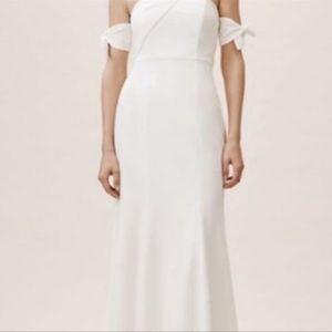 Watters BHLDN Delilah Dress Ivory NWT